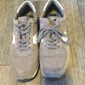 MK Allie Trainer Sneakers, Steel Grey.
